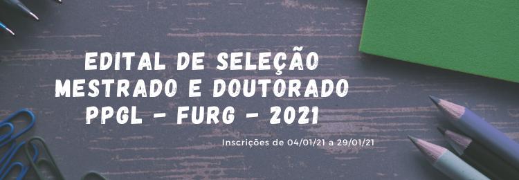 EDITAL SELEÇÃO 2021